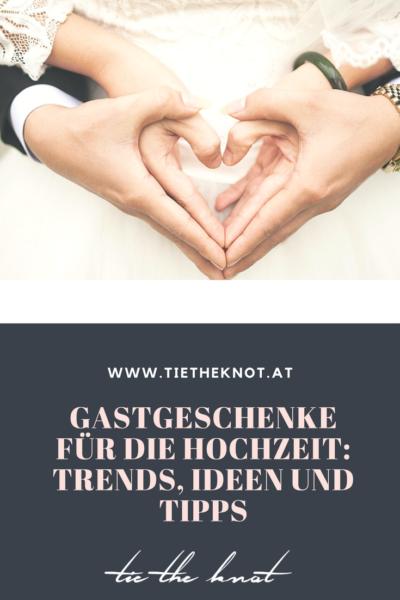 Gastgeschenke für die Hochzeit: Tipps und Ideen