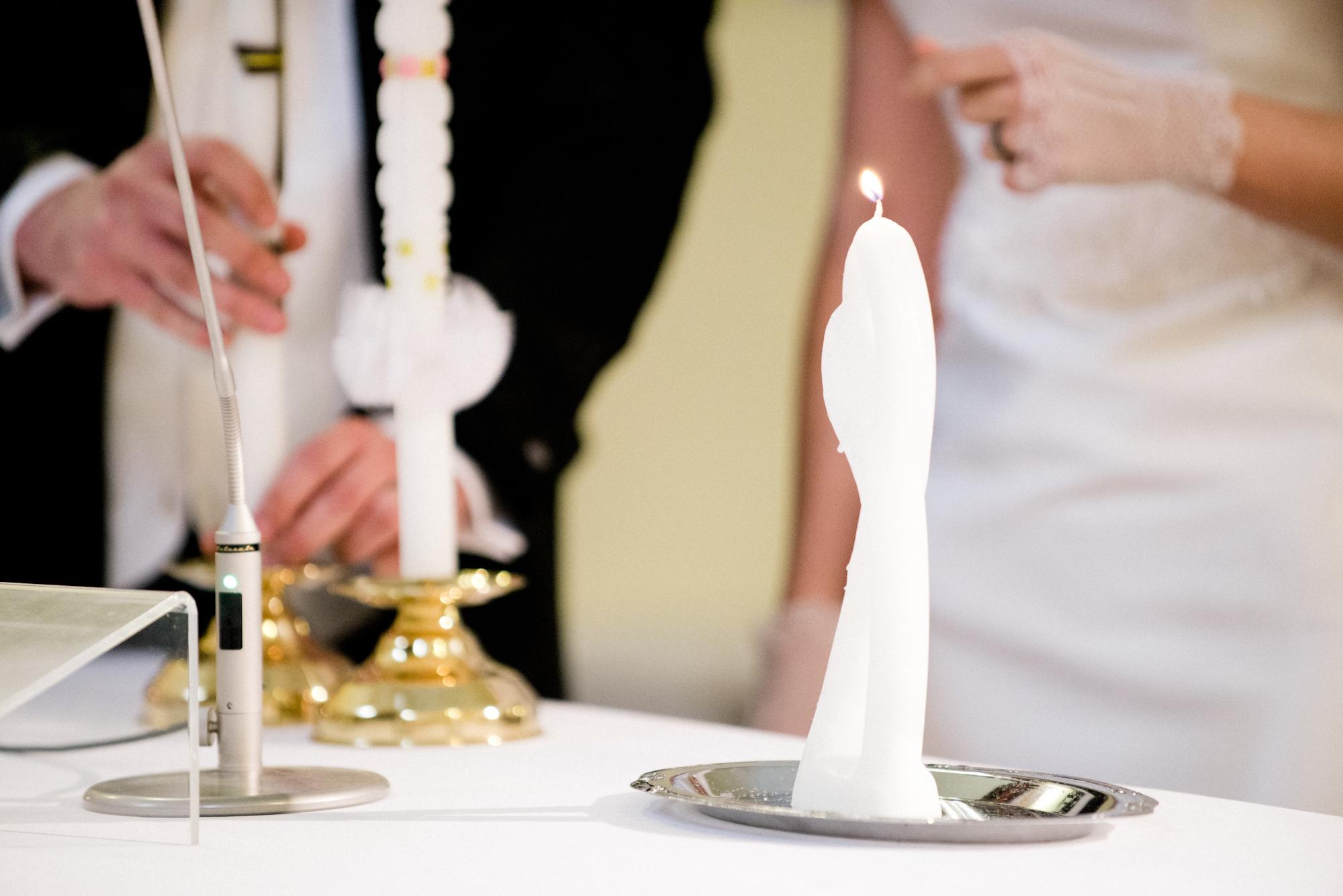 Katholische trauung hochzeitskerze