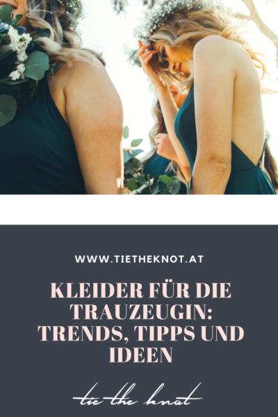 Kleider für die Trauzeugin: Tipps, Trends und Ideen