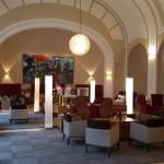 Im wunderschönen Boccaccio-Saal gibt es täglich einen Nachmittagssnack.