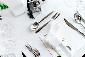 """Das """"Place setting"""": Was muss auf den Tisch?"""