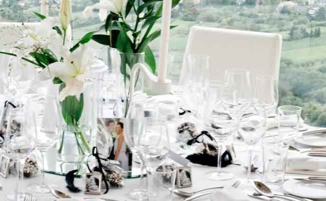 Hochzeit: Tischnummern selber machen