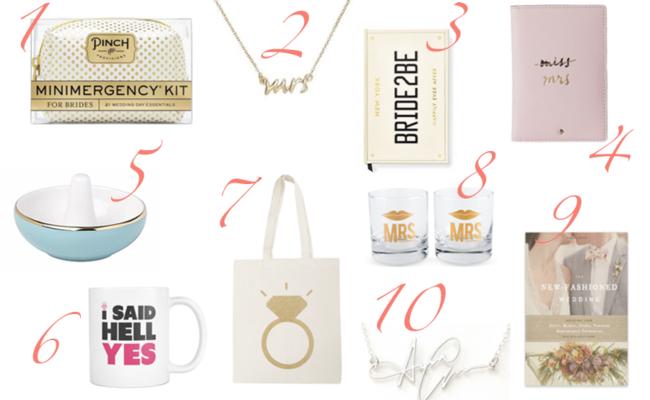 Geschenke für die Braut: Tipps und Ideen