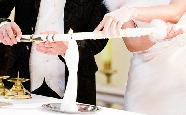 Sprüche für die Hochzeitskerze