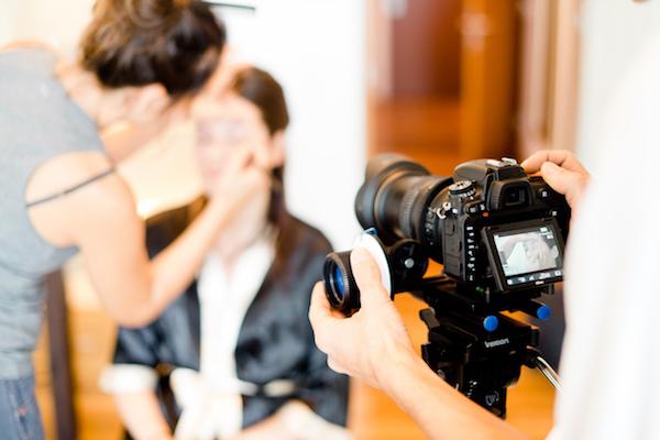 """Fotos bzw. ein Video vom """"getting ready"""" sind eine unvergessliche Erinnerung."""