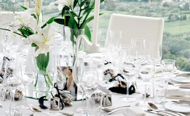 Hochzeit: Druckvorlagen für Tischnummern zum Ausdrucken