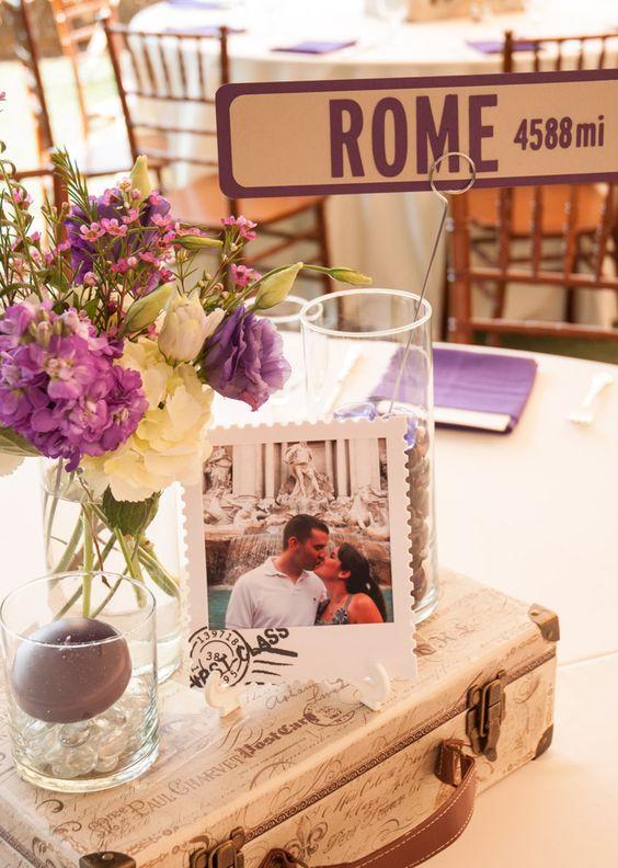 Tischnummern mit Polaroids: Eine schöne Alternative für die Hochzeit