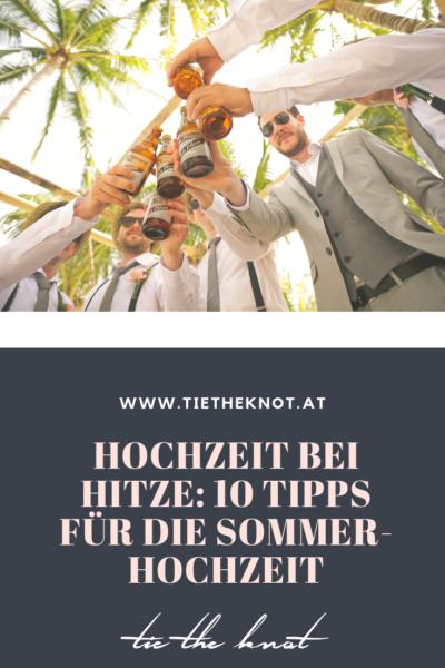 Hochzeit bei Hitze: 10 coole Tipps für die Sommerhochzeit