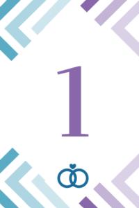 Tischnummern zum Ausdrucken 6