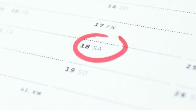 Hochzeitstermin finden: So findest du das perfekte Datum für den großen Tag