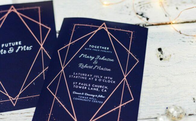 Kurze Texte für die Hochzeitseinladung