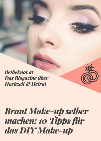 Braut Make-up selber machen: 10 Tipps